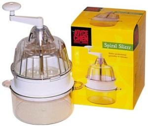 você pode adquirir este espiralizador através do site americano amazon.com