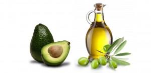 O abacate e o azeite de oliva extra virgem são dois alimentos muito benéficos ao coração!