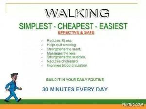 caminhar traz muitos benefícios para a nossa saúde:30 minutinhos só por dia: vamos lá, pessoal!