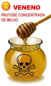 O xarope de milho com alta concentração de frutose consegue SER AINDA PIOR que o próprio açúcar branco, que é uma bomba! Passem bem longe dele!