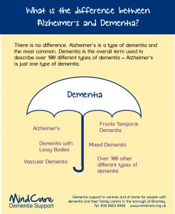 A Doença de Alzheimer é um tipo de demência