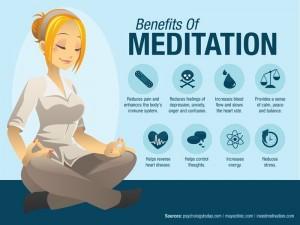 Os benefícios da meditação são inúmeros! Vale MUITO a pena investir!