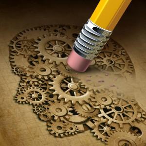 A perda da memória de fatos recentes é um dos sinais de alerta da doença de Alzheimer´s.